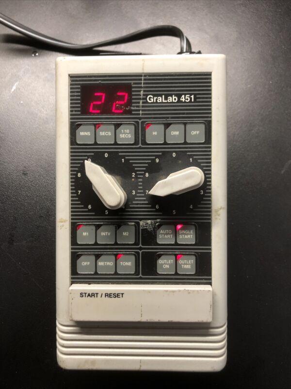 Gralab Photo Darkroom Timer Model 451 Tested
