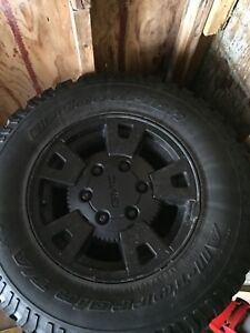 GMC Winter tires only used for 1 season