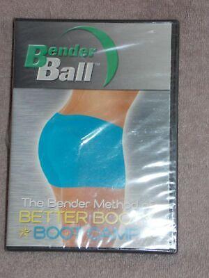 Bender Ball The Bender Method Of BETTER BOOTY Boot Camp Dvd New