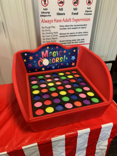 Carnival Game - Stackable Tub Case Game - Color Match Game