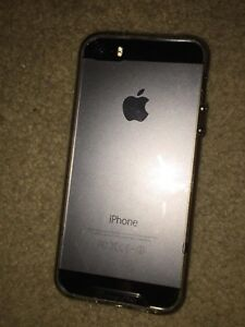 Unlocked iPhone 5s with tempered glass screen protector