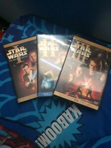 Star Wars movie 1, 2, and 3