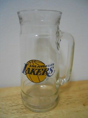 LOS ANGELES LAKERS ~ DRINKING GLASS / TAPERED ~ RARE / VINTAGE (Designer Eyeglasses Los Angeles)