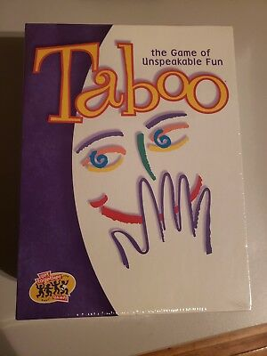 Hasbro Taboo Board Game 2000 Version Party Game Factory Sealed   for sale  Montreal
