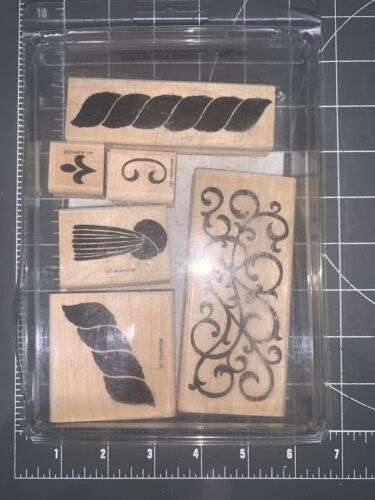 USED Lot Of 6 Definitely Decorative Cords Tassels R/S By Stampin Up  - $10.00