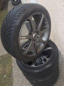 5x114.3 & 5x100 aftermarket wheels tires package
