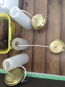 3 pendant lights: FREE