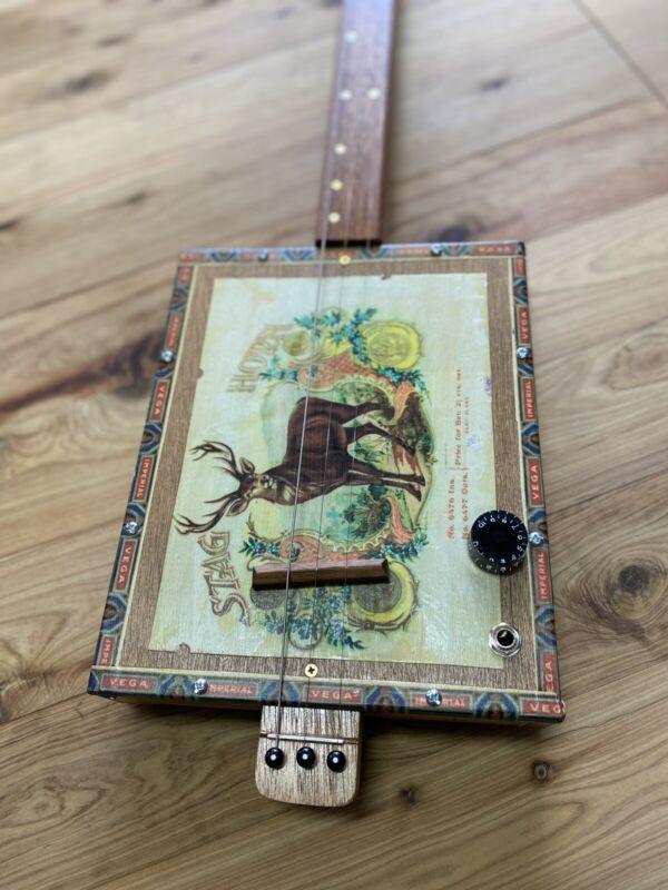 Cigar Box Guitar By Birdwood Guitars - Made To Order