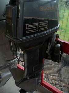 Outboard/ Suzuki 55hp/ Boat/ Trailer Old Beach Brighton Area Preview