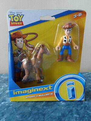 Imaginext - Toy Story 4 - Disney Pixar - Woody & Bullseye Figures