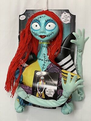 Nightmare Before Christmas 5' Sally Ragdoll Hanging Decor LIghts Halloween