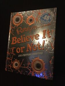 Brand new Ripley's believe it or not! Eye popping oddities