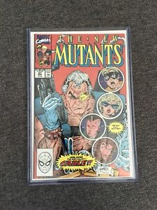 The new mutants 87 (first appearance cable)!!