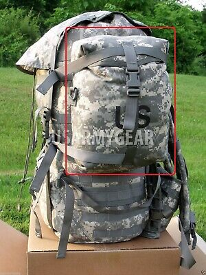 SET of 2 MOLLE II ACU Sustainment Pouch w US Flag NO Rucksack Main Back Pack