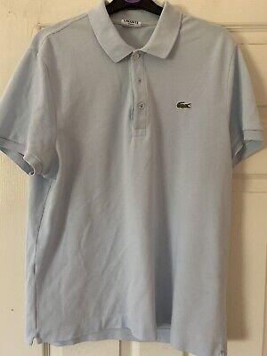 mens lacoste polo shirt size 5 Slim Fit