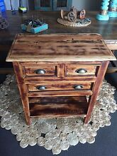 Industrial Wooden Side Table 2 Available Victoria Point Redland Area Preview