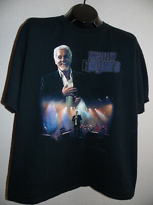2006 Kenny Rogers The Journey Tour Concert City T Shirt Black Size Extra Large