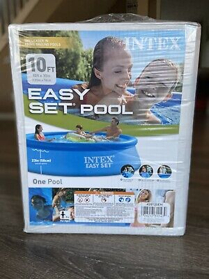 ☀️💦Intex 10ft x 30in Quick Set Easy Above Ground Pool. Compare Summer Waves💦☀️