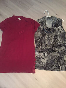 Women's Sweater and Shirt. Size L