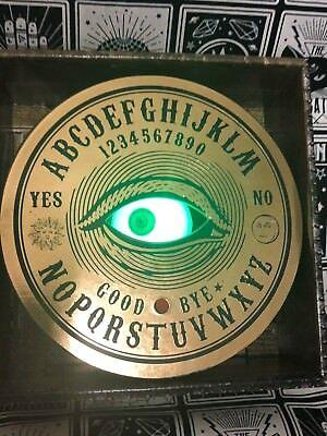 Gemmy Animated Mystic Ouija Talking All Seeing Eye Eyeball Halloween Decoration