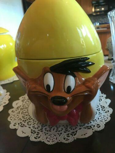 Speedy Gonzales Cookie Jar Looney Tunes Ceramic Warner Bros Vintage 1996