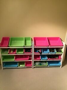 Children's storage shelf