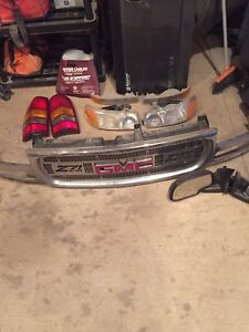 Lights grill and mirrors - 99 GMC SIERRA