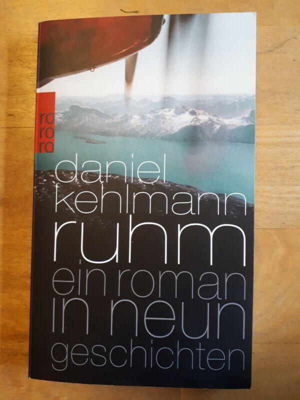 Ruhm von Daniel Kehlmann (2010, Taschenbuch)