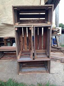 Hardwood crates North Arm Noosa Area Preview