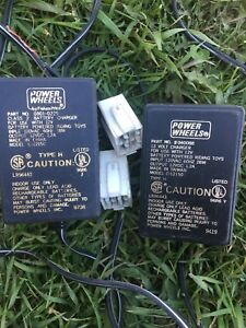 Power Wheels Chargers