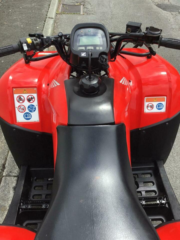 2014 HONDA TRX250 TM 4x2 MANUAL FOURTRAX 2WD QUAD BIKE ATV FOUR WHEELER! YM'13