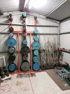 Gym Equipment - Weights, Barbells, Dumbbells, Benches
