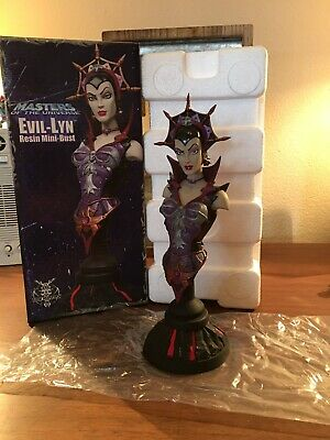 NECA Masters Of The Universe Evil-lyn Bust MOTU Statue He-man 200X He Man Statue