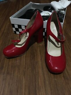 Wittner Shoes Pumps Mary Janes Heels Red