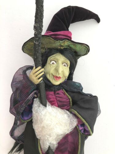 bewitching FLYING WITCH * green Elphaba * NEW Witchcrafters Winward * only 1