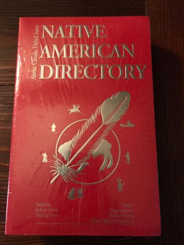 Native American Directory United States, Canada, Alaska  - $16.45