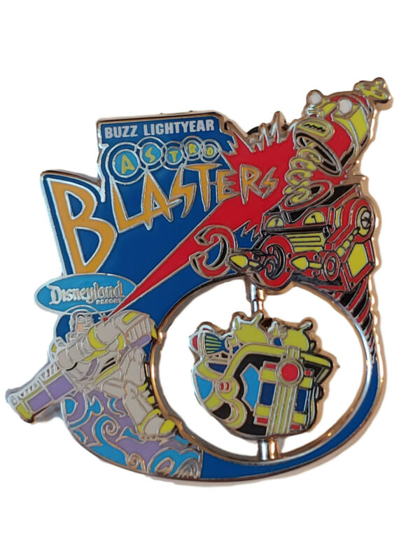 Pin 116532 DLR - Buzz Lightyear Astro Blasters Attraction Spinning pin