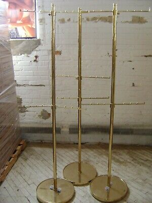 Retail Gold Handbag Purse Garment Ball Rack