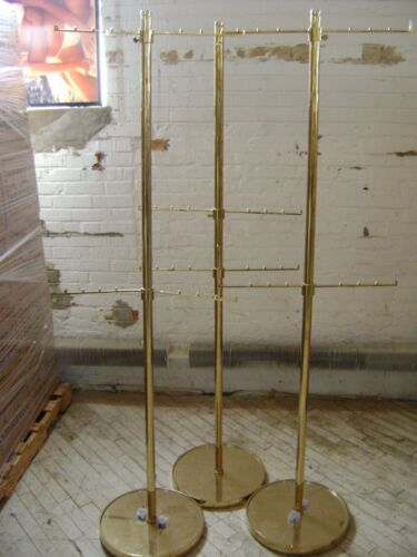 RETAIL GOLD HANDBAG PURSE GARMENT BALL RACK