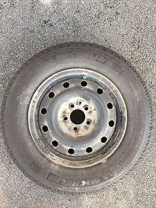 "Michelin 16"" Latitude X-Ice winter tires and rims"