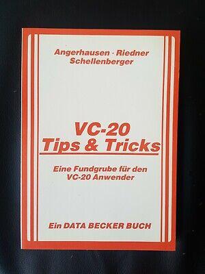 Angerhausen VC-20 Tips & Tricks (Data Becker Buch 1983) Commodore C64 Eine Fund.