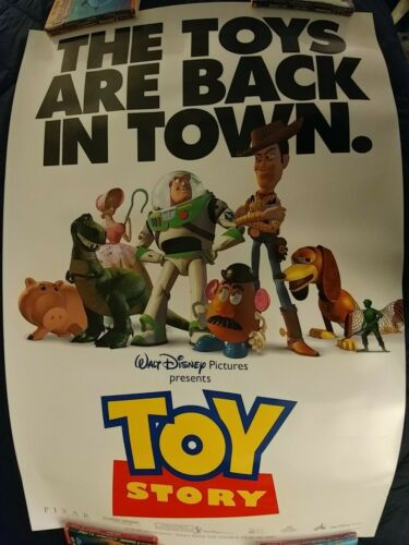Toy Story Original Movie Poster Double Sided Promo