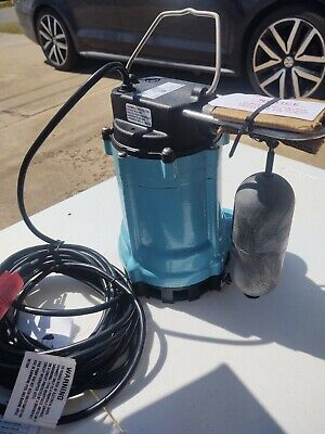 Little Giant 9sn-cia-sfs 410 Hp Automatic Submersible Sewage Pump 115v