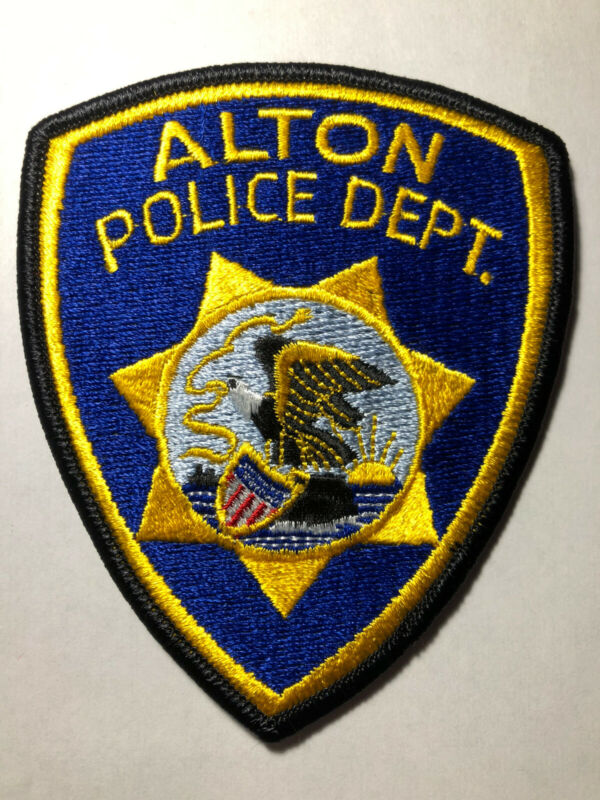 Alton Illinois Police Patch