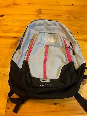 Womens The North Face Vault Backpack Bookbag School Bag (North Face School Backpacks)