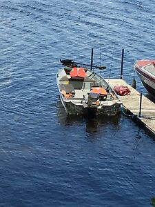 Great Aluminum fishing boat