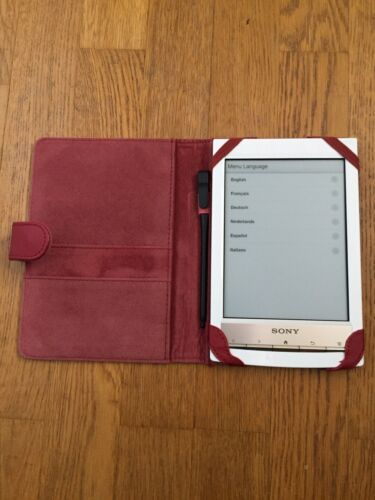 Sony ebook-reader PRS-T1, Touchscreen
