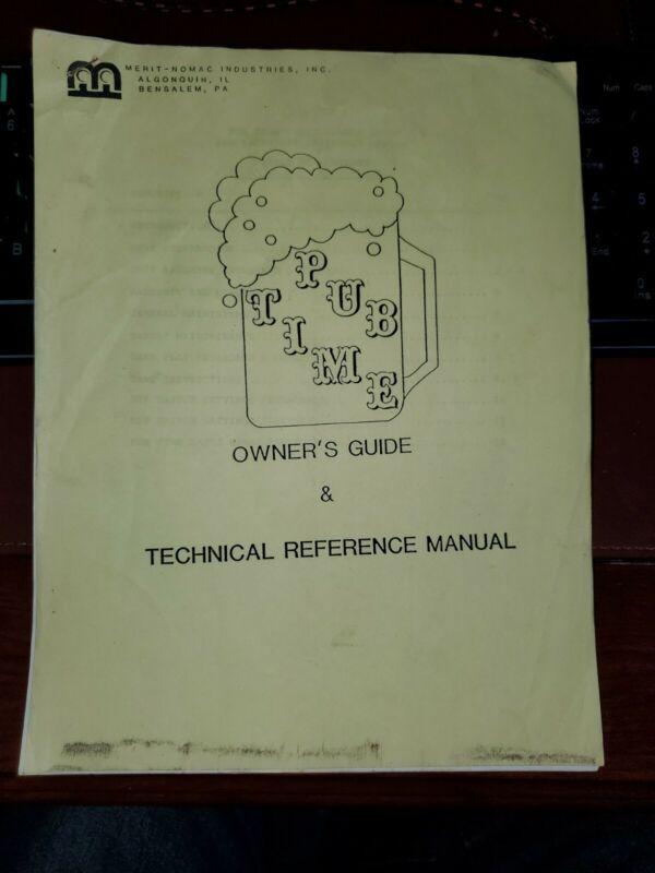 Merit Pub time Darts Manual .