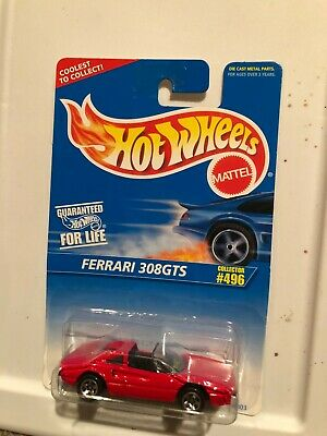 Hot Wheels Ferrari 308GTS Collector #496 Red E3