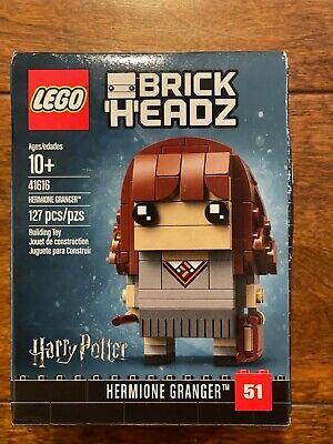 LEGO 41616 - BrickHeadz Hermione Granger. NEW. RETIRED. FREE SHIPPING